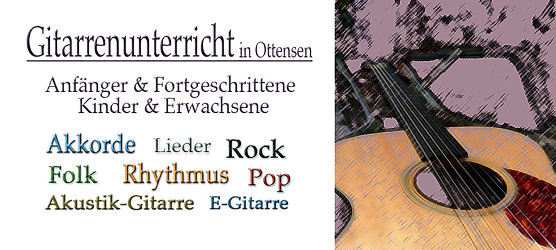 Gitarrenunterricht für Kinder und Erwachsene, Anfänger und Fortgeschrittene in Hamburg