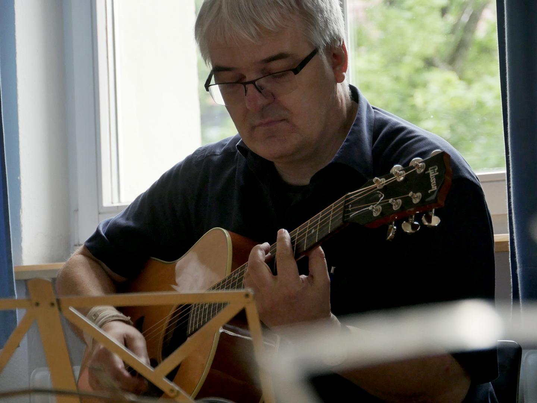 Schorndorfer Gitarrentage 2015,Fingerstyle,Workshop,Peppino D'Agostino,Schorndorf,Markus Bartel,Stefan Brixel